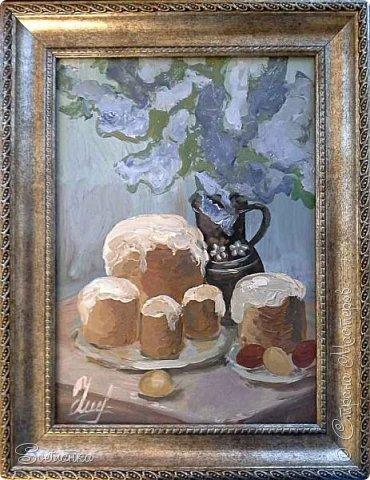 Пасхальные натюрморты в подарок к Великому празднику моим родным))) фото 1