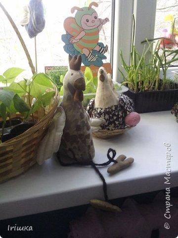 Вот такие птички пошились у меня в детский сад для огородика на подоконнике. фото 5