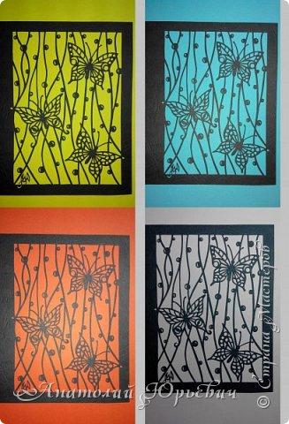 """Всем добрый день! Вашему вниманию новая открытка. Идея для эскиза взята у Виктора Яковлевича """"СМ""""  (панно), и изменено под открытку. Размер 12х16см. фото 6"""