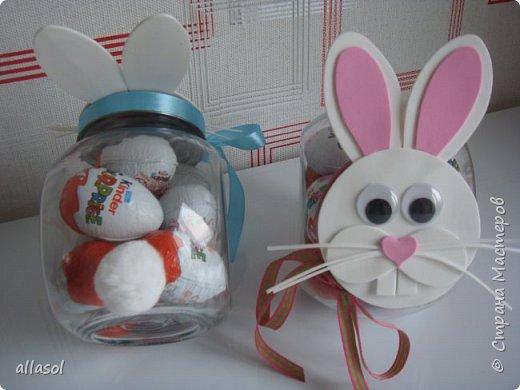 Коробочки-зайчики для шоколадных яиц. Идея  http://creativeleeyours.com/cute-curvy-keepsake-easter-bunny  фото 4