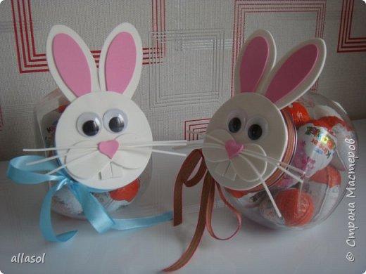 Коробочки-зайчики для шоколадных яиц. Идея  http://creativeleeyours.com/cute-curvy-keepsake-easter-bunny  фото 5