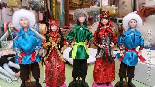 Всех с праздником Светлой Пасхи!!!!  Может быть и в честь нее решила поделиться своими очередными куклами. Долго они у меня рождались, но в принципе я довольна. фото 8