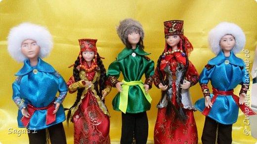 Всех с праздником Светлой Пасхи!!!!  Может быть и в честь нее решила поделиться своими очередными куклами. Долго они у меня рождались, но в принципе я довольна. фото 1
