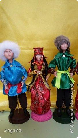 Всех с праздником Светлой Пасхи!!!!  Может быть и в честь нее решила поделиться своими очередными куклами. Долго они у меня рождались, но в принципе я довольна. фото 3
