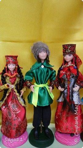 Всех с праздником Светлой Пасхи!!!!  Может быть и в честь нее решила поделиться своими очередными куклами. Долго они у меня рождались, но в принципе я довольна. фото 2