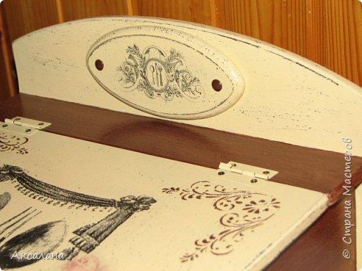 Шкатулка для хранения столовых приборов фото 4