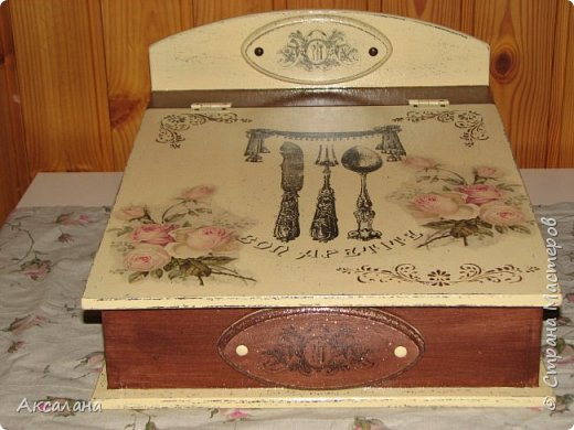 Шкатулка для хранения столовых приборов фото 7