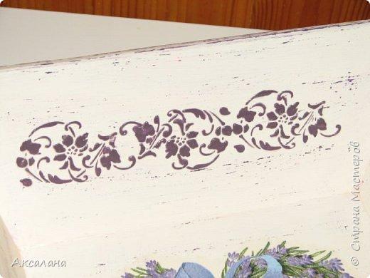 Мини подносики с лавандой фото 10