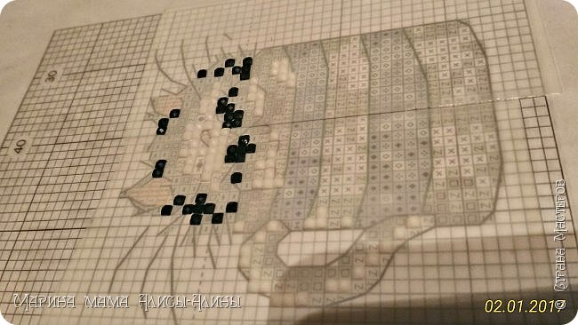 """Добрый вечер! С праздником Светлой Пасхи! А я хотела вам показать свой эксперимент.От мозаики остаётся очень много стразиков. Попробовала их """"утилизировать"""" фото 2"""