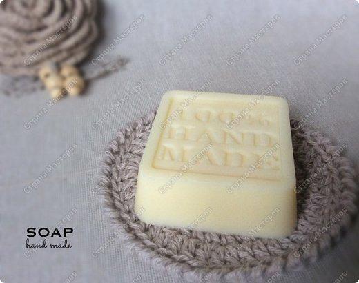 Мыло из мыльной основы.  С облепиховым маслом, маслом миндаля и отдушкой орхидея.  фото 6