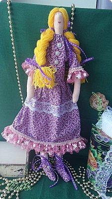 Текстильная кукла фото 1
