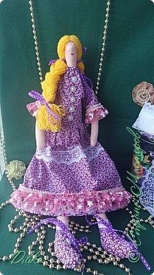 Текстильная кукла фото 3