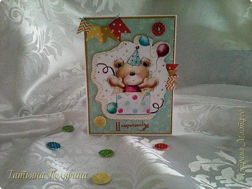 Открыточки на рождение малыша. фото 4