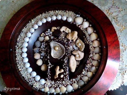 Черноморские ракушки, грубо обкатанные морем камни, псевдожемчуг, бисер, полубусины под жемчуг.  фото 1