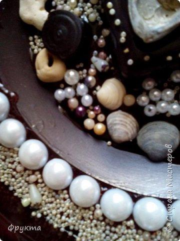 Черноморские ракушки, грубо обкатанные морем камни, псевдожемчуг, бисер, полубусины под жемчуг.  фото 2