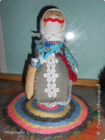Добрый вечер! Поздравляю всех с праздником Светлой Пасхи! Принимайте - куклы обереги! фото 6