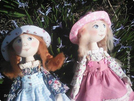 У нас уже полным ходом идет весна!!! Настроение весеннее и куколки получаются миленькие и весенние. фото 5