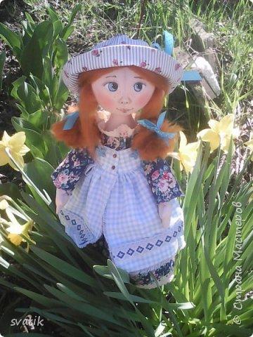 У нас уже полным ходом идет весна!!! Настроение весеннее и куколки получаются миленькие и весенние. фото 3