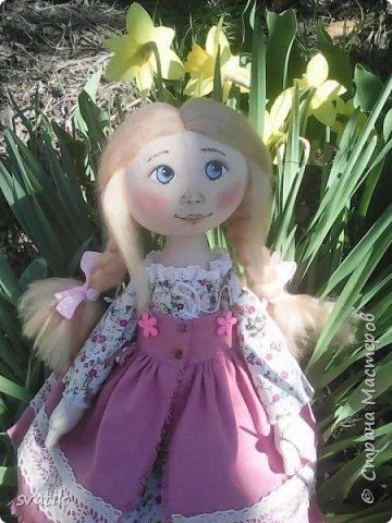 У нас уже полным ходом идет весна!!! Настроение весеннее и куколки получаются миленькие и весенние. фото 1