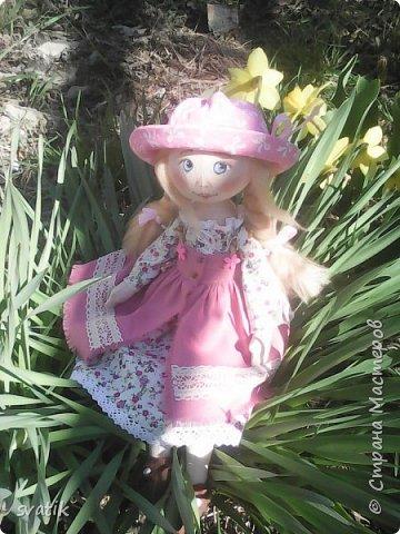 У нас уже полным ходом идет весна!!! Настроение весеннее и куколки получаются миленькие и весенние. фото 2