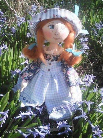 У нас уже полным ходом идет весна!!! Настроение весеннее и куколки получаются миленькие и весенние. фото 4