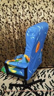 Купила я год назад за 6000 кресло. Помню долго денежку копила,но разорилась я на него. И через год,оно стало таким... фото 5