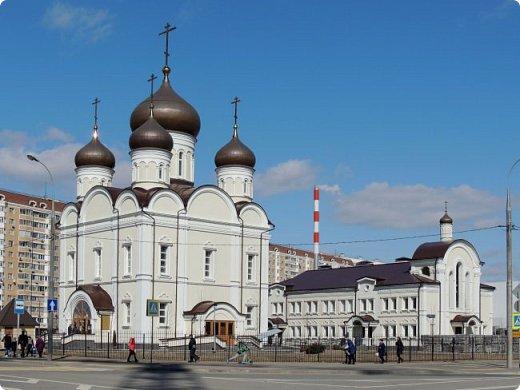 Москва. Церковь Алексия старца Московского. фото 1