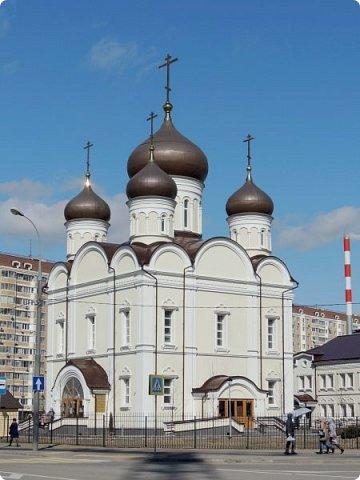 Москва. Церковь Алексия старца Московского. фото 2