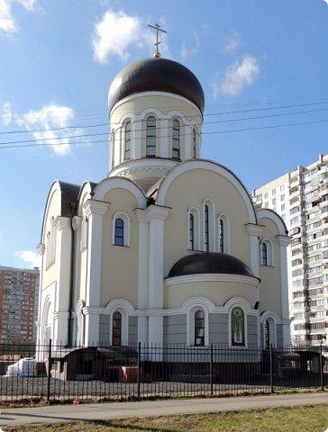 Москва. Церковь Алексия старца Московского. фото 5