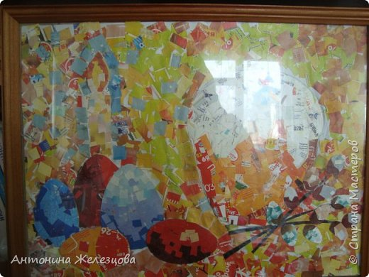 Традиционный пасхальный концерт сопровождается выставкой детских работ.  фото 5