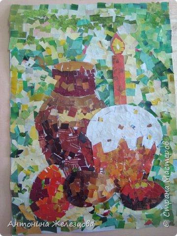 Традиционный пасхальный концерт сопровождается выставкой детских работ.  фото 6