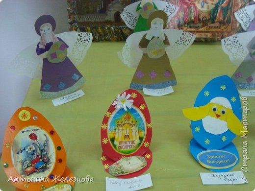 Традиционный пасхальный концерт сопровождается выставкой детских работ.  фото 14