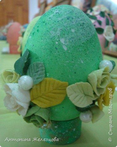 Традиционный пасхальный концерт сопровождается выставкой детских работ.  фото 30