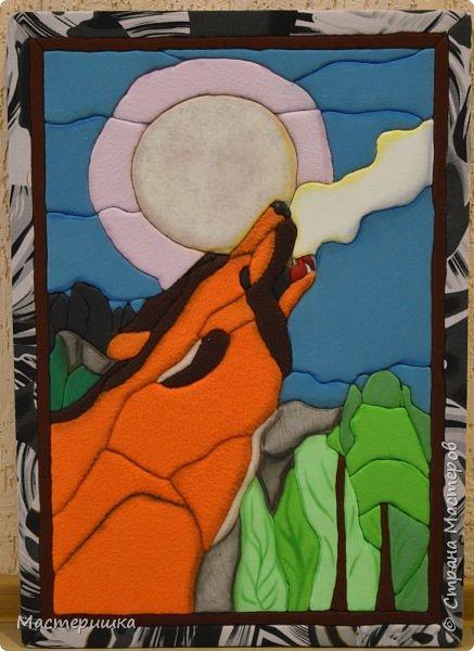 """Добрый вечер! Я готова показать вторую часть  работ, посвящённых животным Красной Книги. Сейчас наша выставка экспонируется в МУК """"Досуговый центр"""" нашего города. фото 5"""