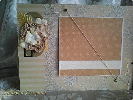 Скрап Альбом и подарочный пакет на день рождения. фото 11