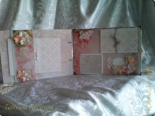 Скрап Альбом и подарочный пакет на день рождения. фото 16