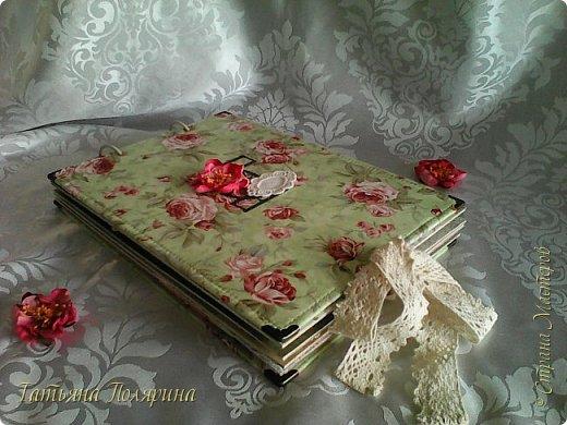 Скрап Альбом и подарочный пакет на день рождения. фото 4