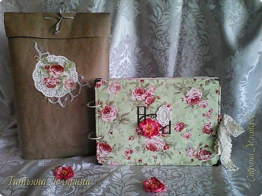 Скрап Альбом и подарочный пакет на день рождения. фото 1