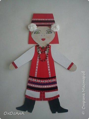 Мордовочка - эрзянка Алдуня. Кукла в мордовском костюме. Авторы: Я и моя дочка Даша. фото 1