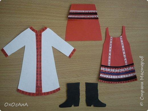 Мордовочка - эрзянка Алдуня. Кукла в мордовском костюме. Авторы: Я и моя дочка Даша. фото 2