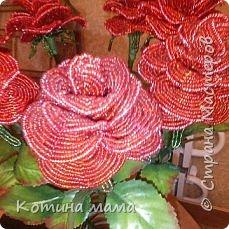 Розы.в натуральную величину.листья покупные... фото 2