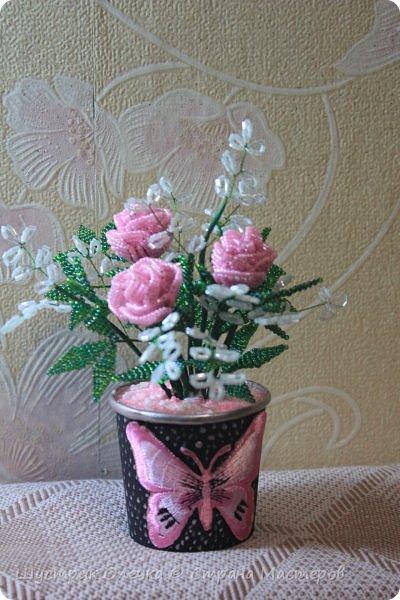 Розовый кустик. фото 1