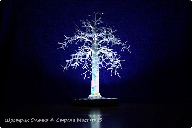 """Светильник """"Зимнее дерево"""".  фото 1"""