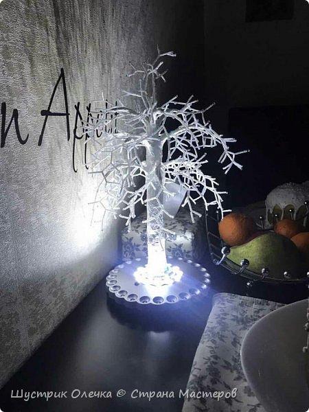 """Светильник """"Зимнее дерево"""".  фото 3"""