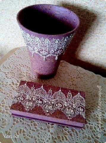 Мои новые работы. Первая работа - тарелочка, расписана акриловыми контурами, использовано несколько бусин. фото 6