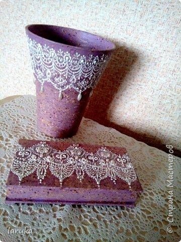 Мои новые работы. Первая работа - тарелочка, расписана акриловыми контурами, использовано несколько бусин. фото 8