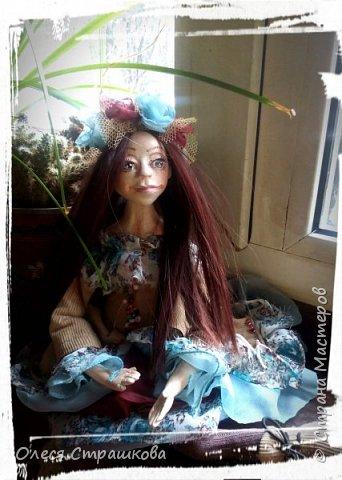 Добрый день! Знакомьтесь- Диана. Кукла болтушка. Не стоит самостоятельно, только сидит. Очень подвижна, принимает  любые позы. фото 2