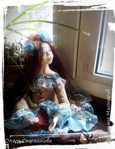 Добрый день! Знакомьтесь- Диана. Кукла болтушка. Не стоит самостоятельно, только сидит. Очень подвижна, принимает  любые позы. фото 5