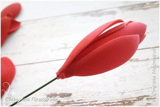 А вы знали что имбирь цветет? Да, да, именно тот имбирь который мы употребляем в пищу. Вот такими цветами!  Представляю вам небольшой мастер класс по их изготовлению.  фото 9