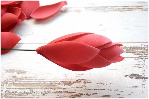 А вы знали что имбирь цветет? Да, да, именно тот имбирь который мы употребляем в пищу. Вот такими цветами!  Представляю вам небольшой мастер класс по их изготовлению.  фото 10